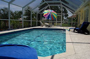 Cape Coral Florida Pooldeck