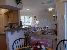 der essbereich traumvilla zu mieten in cape coral florida. Black Bedroom Furniture Sets. Home Design Ideas